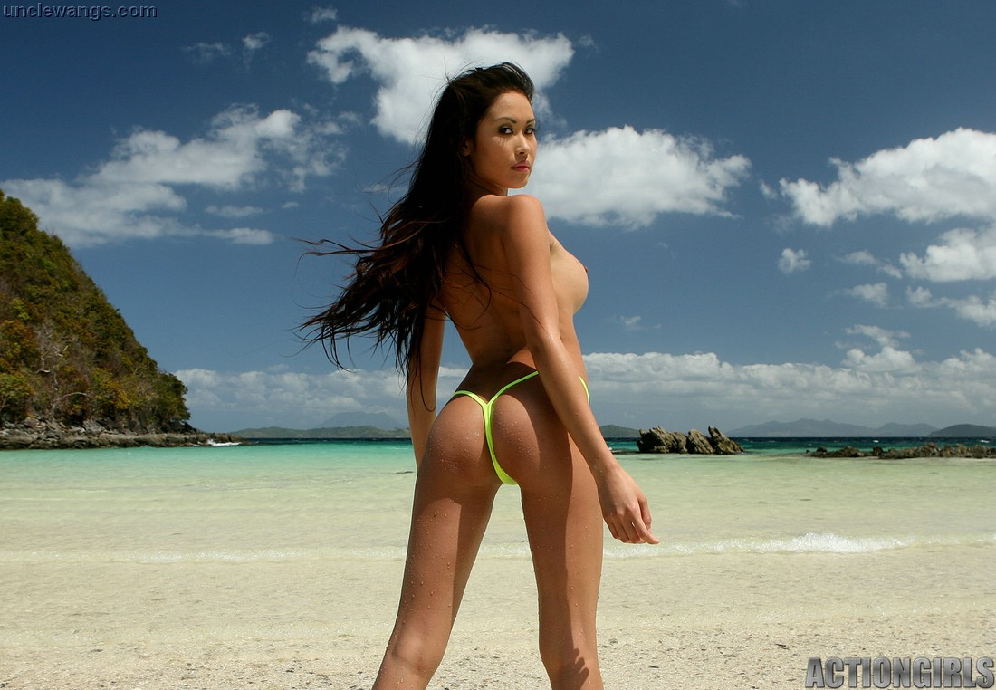 nude beach asian